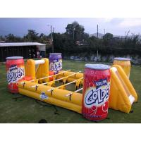 Buy cheap Easy to fold inflatable soccer field for fun from wholesalers
