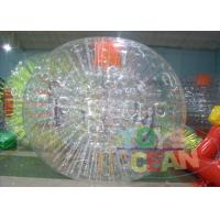 Wholesale Clear Human Inflatable Bumper Bubble Ball / Huge Full Body Bumper Balls from china suppliers