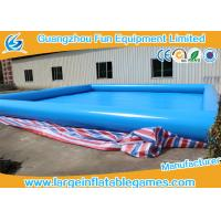 Wholesale 0.9mm Plato PVC Tarpaulin Inflatable Water Pool For Water Floating Park Games from china suppliers