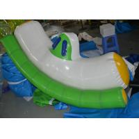 Wholesale Large Inflatable Water Seesaw / Adult Indoor Water Park Equipment from china suppliers