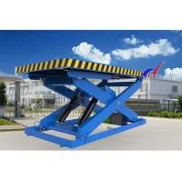 Buy cheap Electric Or Manual Fixed Hydraulic Table Lift With Fixed Loading / Unloading from wholesalers