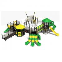 Wholesale Hot Sale Product for disabled Kids Outdoor Swing and Slide Set. from china suppliers