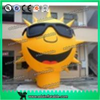 Wholesale 3m Sunglasses Advertising Inflatable Sun Cartoon/Event Party Inflatable Sun Decoration from china suppliers