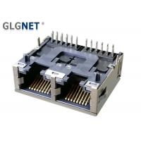 Wholesale Side Entry Rj45 Multi Connector Latch Down 1000 BASE T 2 Ports In 1 Row from china suppliers