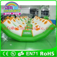 Wholesale QinDa inflatable adult seesaw inflatable seesaw chair inflatable water games from china suppliers