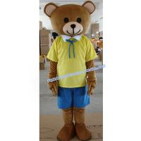 Quality yellow jacket mascot costume for sale