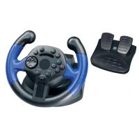 Mini Wired USB Video Game Steering Wheel for Direct-X / X-input