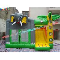 China Outdoor Kids Inflatable Bouncer Slide Commercial Grade 0.55mm With PVC Tarpaulin on sale