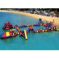 Wholesale Obstacle Course Inflatable Aqua Park High Temperature And Low Temperature Resistance from china suppliers