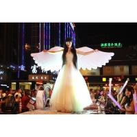 Wholesale 2m Beautiful Perform Cloth Wearable Moving Inflatable Wing For Stage from china suppliers
