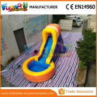 Wholesale Kids / Adults Wet Outdoor Inflatable Water Slides Waterproof With Blower from china suppliers