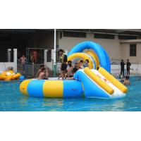 Wholesale 0.9mm PVC Tarpaulin Inflatable Water Trampoline Combo For Swimming Pool from china suppliers