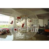 Wholesale Transparent PVC Floating Inflatable Zorb Ball with 1 / 2 Entrance For Grassland / Playground from china suppliers