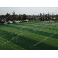 Buy cheap Raw Materials PE Futsal Artificial Grass With Woven Backing 60 Mm Pile Height from wholesalers