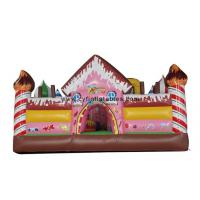 Wholesale Kids Inflatable Bouncer Hous , Inflatable Slide Castles Combo For Park from china suppliers
