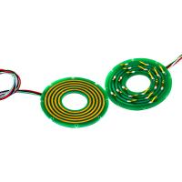 China 2 Circuits Pancake Slip Ring with Separate Stator and Rotor for Air-to-Air Missiles on sale