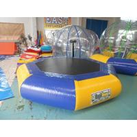 Wholesale Customized Inflatable Water Park inflatable sea trampoline Digital Printing from china suppliers