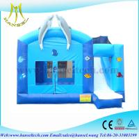Wholesale Hansel large giant commercial rental use inflatable bouncy castle slide combo from china suppliers