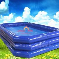 Wholesale High Quality Blue Inflatable Swimming Pool for water walking ball from china suppliers