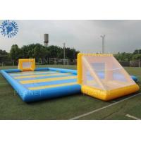 Custom Inflatable Sports Games / Outdoor Inflatable Soccer Field Football Pitch