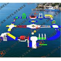 China Commercial Inflatable Water Parks For Sale with Hand Painting on sale
