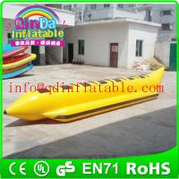 Wholesale Inflatable aqua flyfish/banana boats inflatable flying boats for water sports from china suppliers