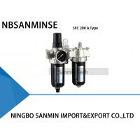 Wholesale Two Units Air Filter Regulator Lubricator  FRL Units Air Compressor Filter Regulator Sanmin from china suppliers