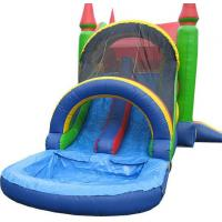Quality Inflatable Caster with Water Slides for sale