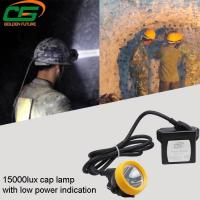 Wholesale IP65 Safety Underground Led Mining Cap Lamp 1 Watt Light Weight from china suppliers