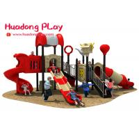 Buy cheap Custom Design School Outdoor Playground Slides , Large Outdoor Playground from wholesalers