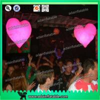 Wholesale Loving Heart Shape Inflatable Lighting Decoration With 16 Colors LED Light For Wedding from china suppliers
