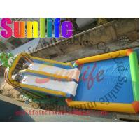 Wholesale Promotion Colourful Commercial Outdoor Inflatable Water Slide For Pools UL / CE from china suppliers