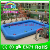 Wholesale Giant inflatable pools swimming pool play equipment inflatable pools for adults from china suppliers