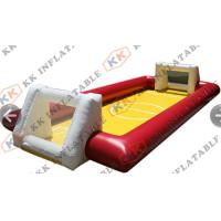 Wholesale Commercial Rental Inflatable Soap Football Field , inflatable Soccer field from china suppliers