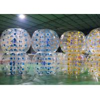 Wholesale Commercial Adults Giant Bubble Soccer , Comfortable Big Inflatable Soccer Ball from china suppliers
