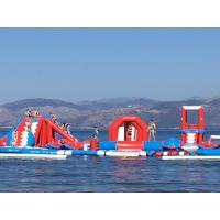 China Commercial Inflatable Water Amusement Park Equipment With Digital Printing on sale