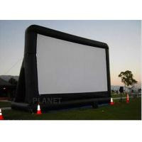 Wholesale Open Air Inflatable Movie Screen Double Stitching AC 110V / 220V Supply Voltage from china suppliers