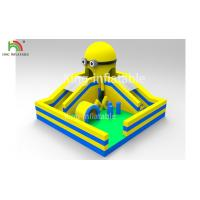 Wholesale Yellow Minions Indoor Bouncy Inflatable Jumping Castle Obstacle Dry Slide OEM from china suppliers