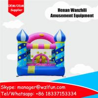 Quality birthday party bouncer happy inflatable bounce house for kids party time for sale