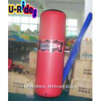 China Hot Welded Small Inflatable Bunkers Paintball Cylinders Inflatable Games For Adults on sale