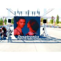 China P7.2mm Outdoor Full Color LED Video Screen Rental For Advertising High Brightness on sale