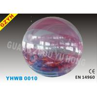 Wholesale Transparent PVC / TPU Inflatable Walk on Water Ball YHWB-010 with Diameter 6 - 10 ft from china suppliers
