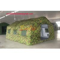 Wholesale inflatable air tight 0.6mm pvc tarpaulin army outdoor camping tent from china suppliers