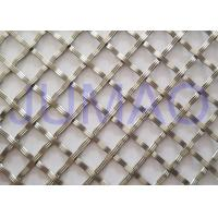 Wholesale 10 Mm Textured Cabinet Grille Inserts , Bright Metal Mesh Panels For Cabinets from china suppliers