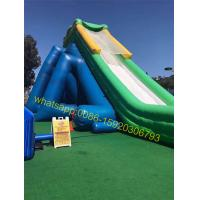 hippo giant inflatable water slide for kids and adults