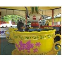 Wholesale Rotating Coffee Cup Family Fun Ride , Fairground Games For Kids from china suppliers