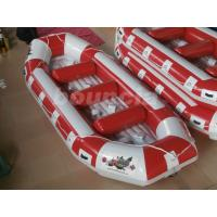 Wholesale Inflatable Raft Boat Inflatable River Rafts With Durable Base from china suppliers
