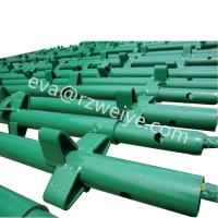 Wholesale Hot dip painted Q235 K-stage / kwikstage scaffold components from china suppliers
