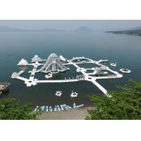 Wholesale Lake Inflatable Floating Water Park Equipment , Inflatable Water Games from china suppliers