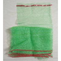 Wholesale Tubular Knitted Mesh Netting Bags , Polyester Drawstring Bag Long Lifespan from china suppliers